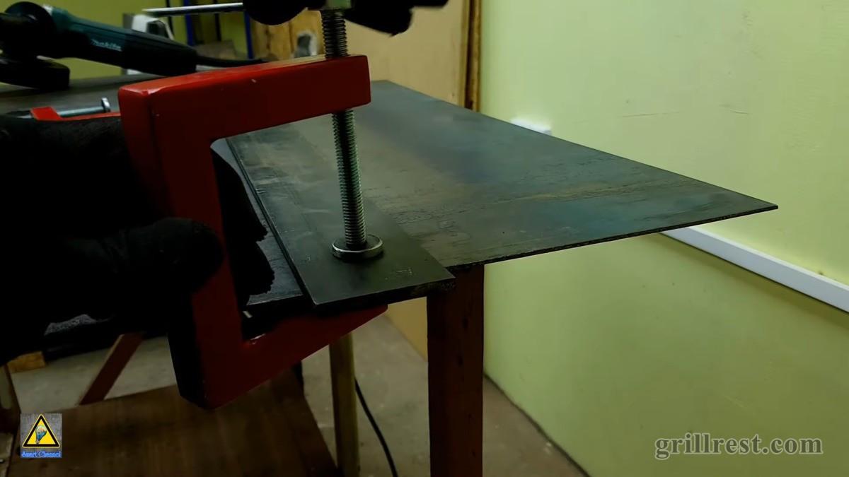 Как сделать мангал из металла своими руками и навес для него