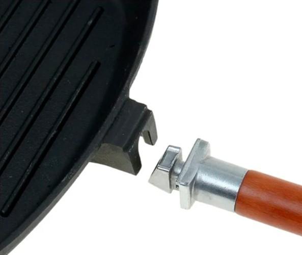 Биол 1026С 26 см с крышкой, съемная ручка