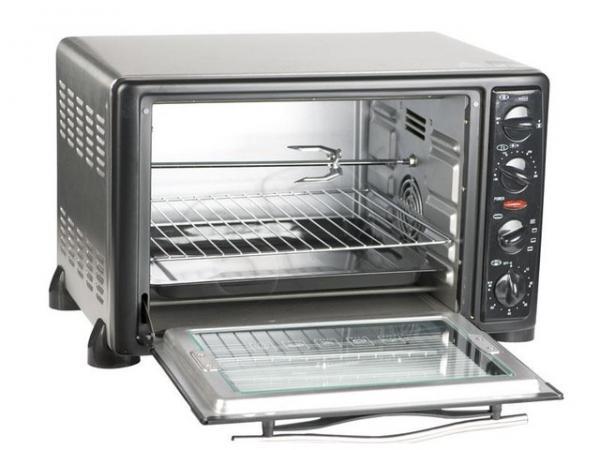 Мини-печка с двойным стеклом