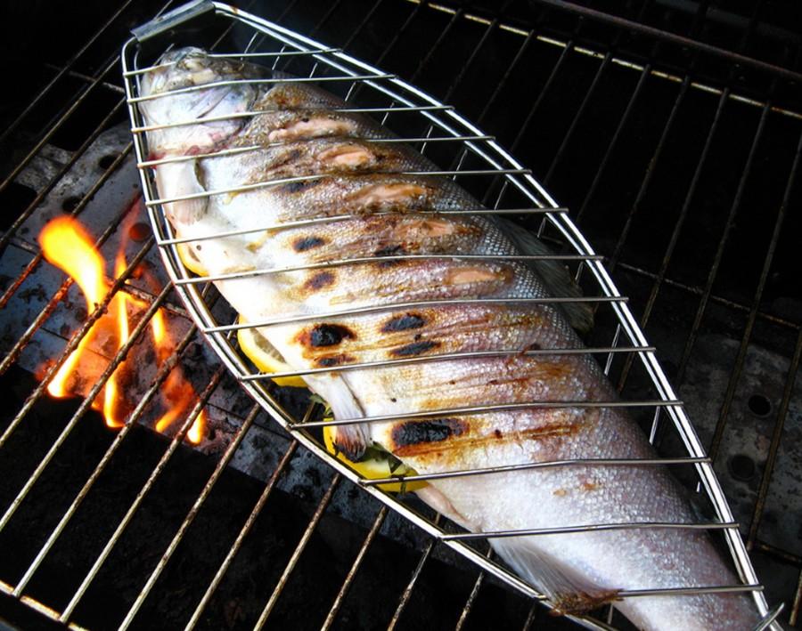 Решетка для рыбы