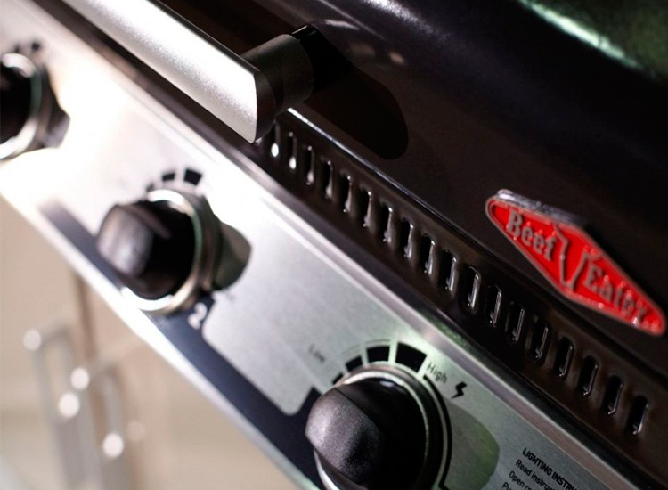 Ручка-регулятор на газовом гриле