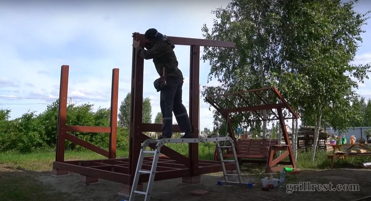 Поднять крышу