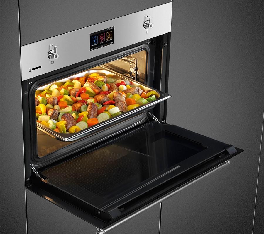 <strong>Низкие (высота 0.38-0.55 м).</strong> Как правило, комбинируются с СВЧ-печами и предназначены для компактных кухонь