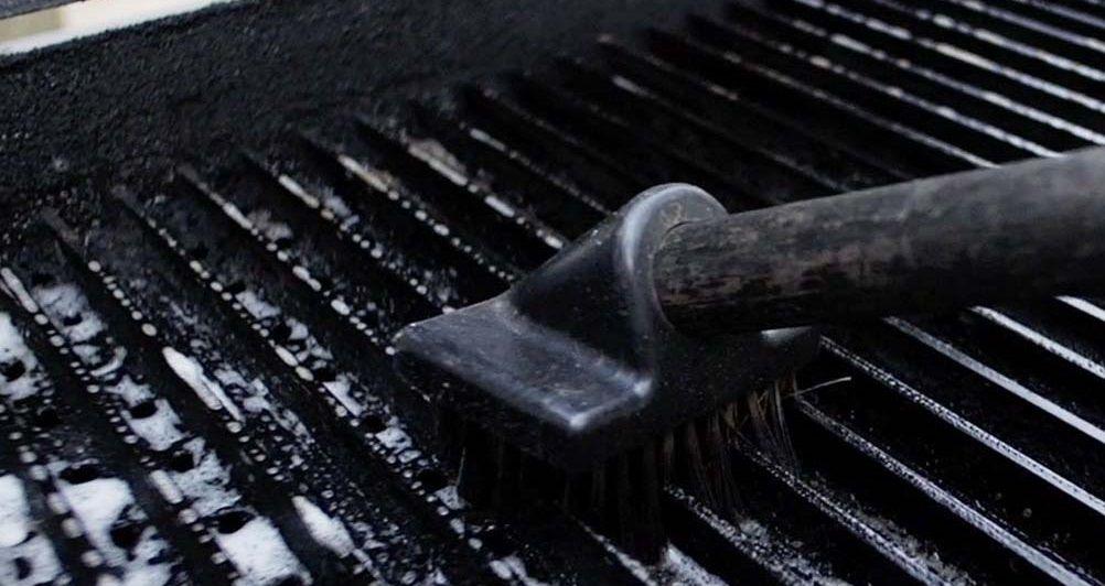 Как почистить колой решетку гриль