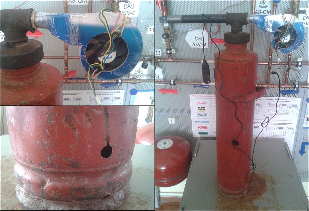 дымогенератор из огнетушителя