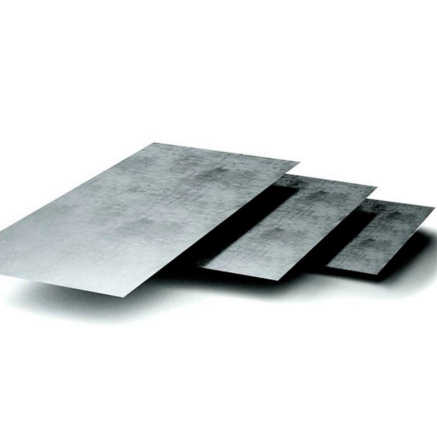 Листы металла толщиной 5 мм для днища и 3 мм для стенок