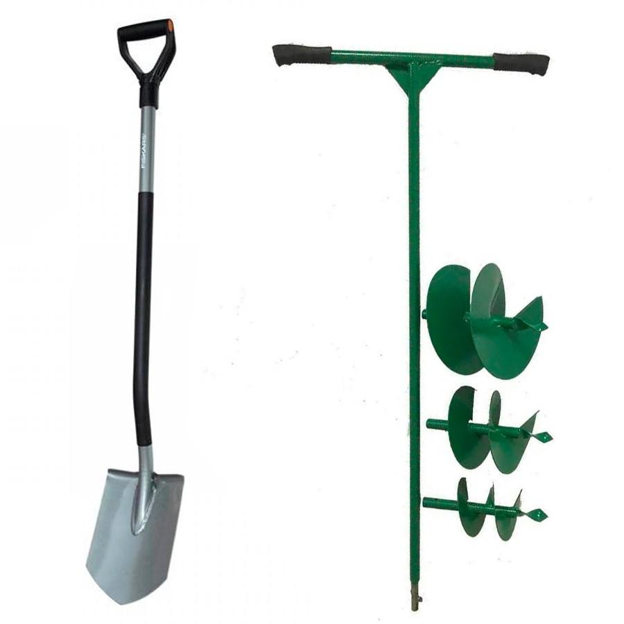 Лопата или бур для изготовления гнезд под опоры