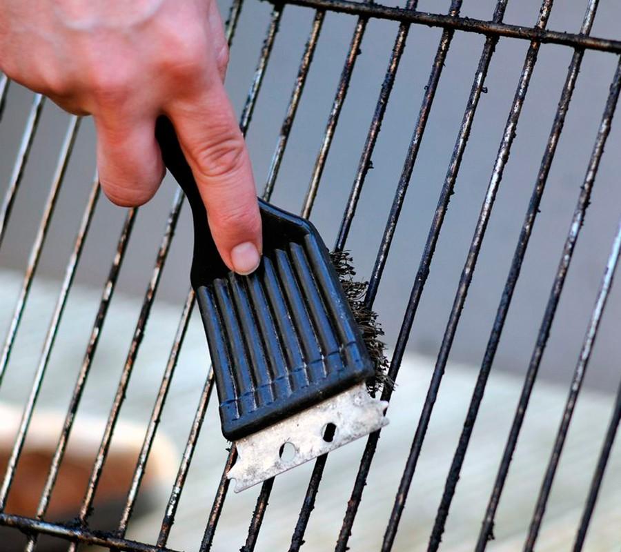 Топ-10 способов как почистить решетку гриля-барбекю