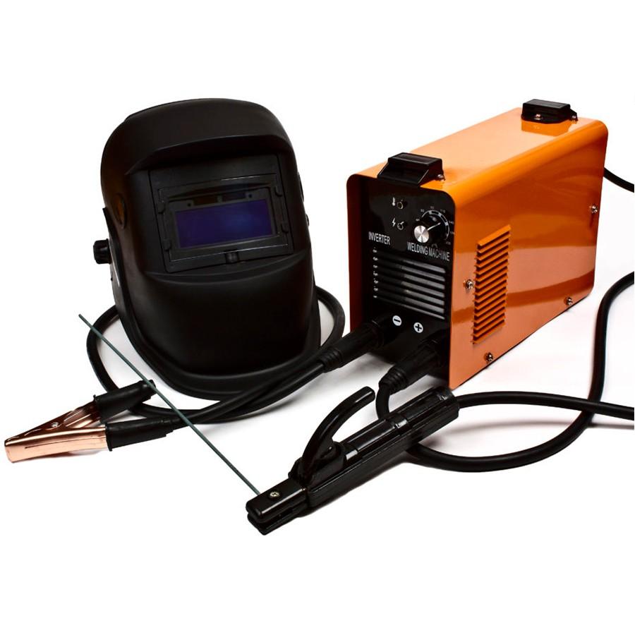 Сварочный инвертер с набором электродов