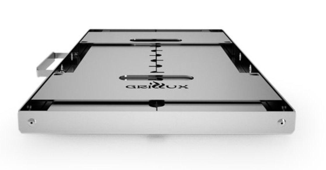 Grillux Optimus-Plus в сложенном виде