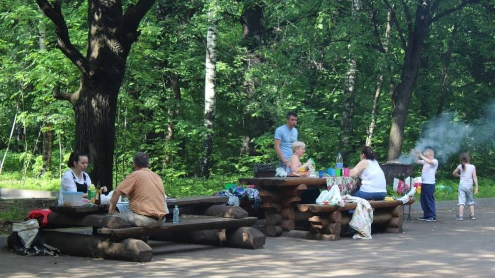 Кусковский лесопарк