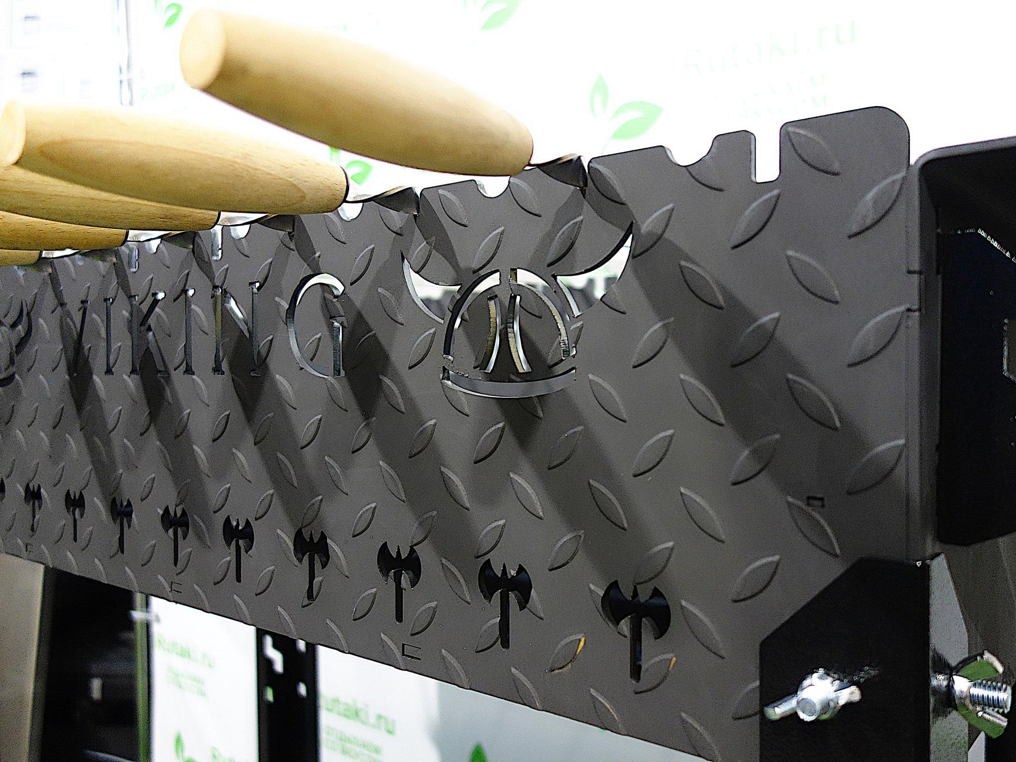 Мангал Grillux VikinG Black XL