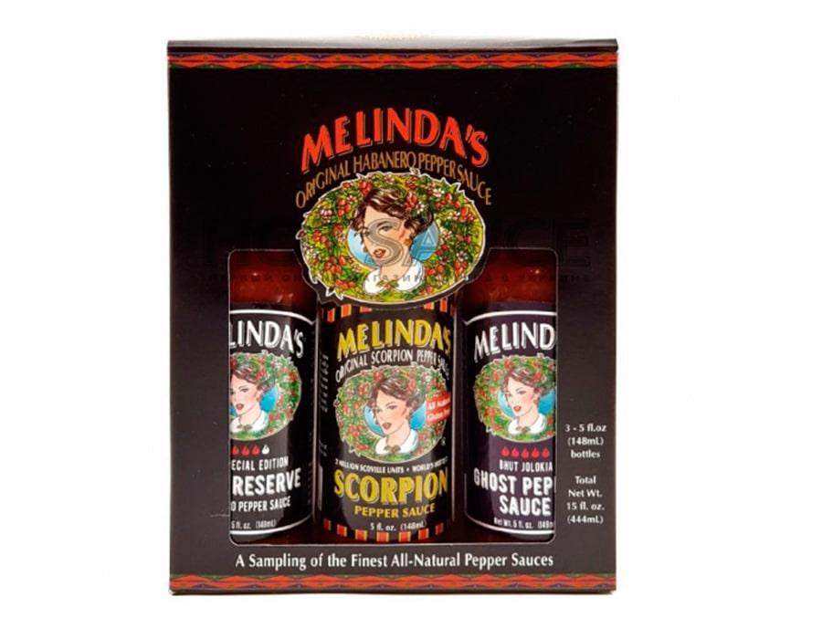 Подарочный набор острых соусов Melinda's