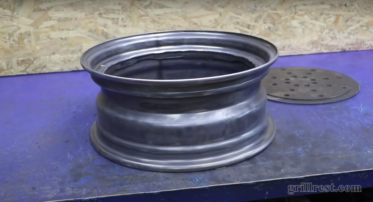 Зачищенный диск