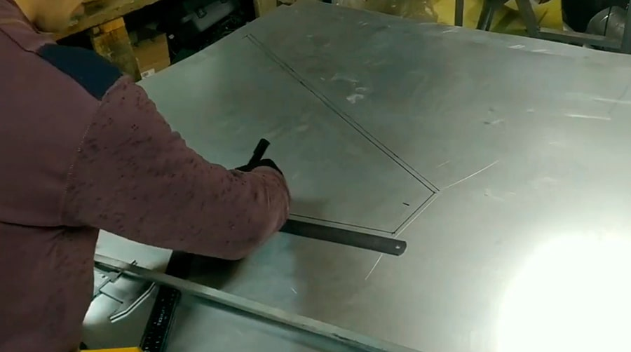 Изготовление металлического вытяжного зонта