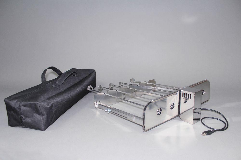 Электрический вертел для шампуров «УМК Самжарыч»