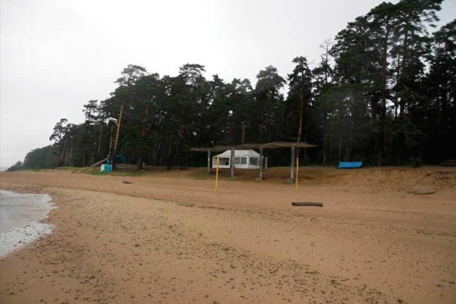 Площадки на территории турбазы «Морской прибой»