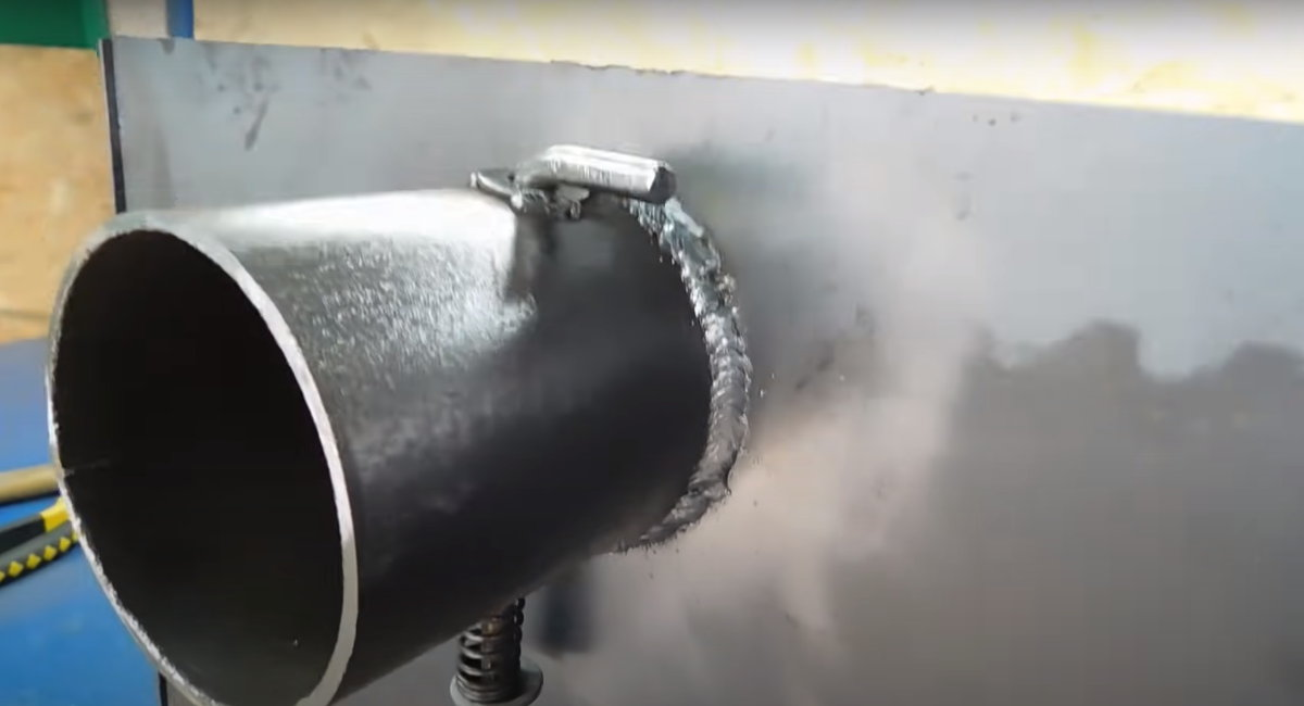 Приваренная труба