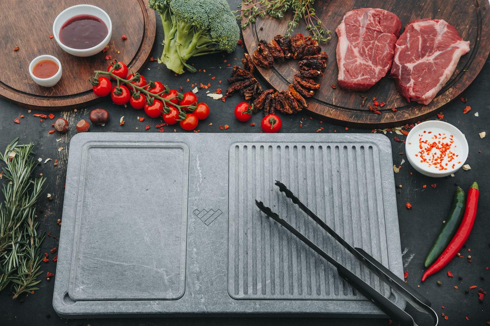Камень для жарки мяса на гриле