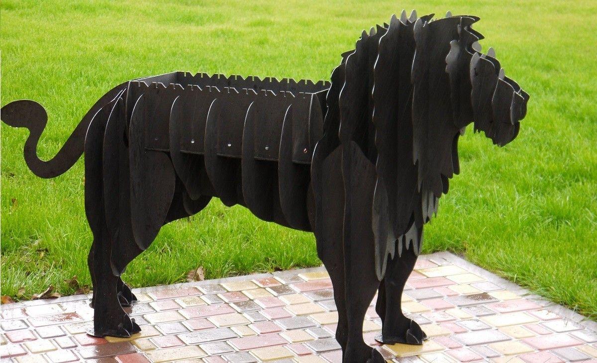 мангал лев